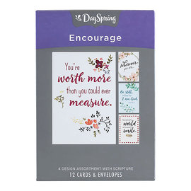 Boxed Cards - Encouragement, Words