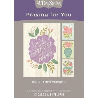 Boxed Cards - Praying for You, KJV House