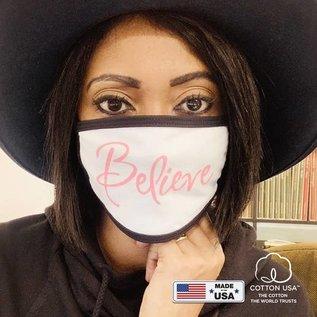 Face Mask: Believe