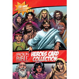 The Action Bible - Heroes Card Collection