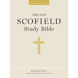 KJV Large Print Scofield Study Bible, Black Bonded Leather