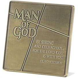 Plaque - Man of God, metal