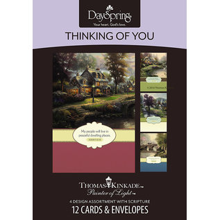 Boxed Cards - Thinking of You, Thomas Kinkade