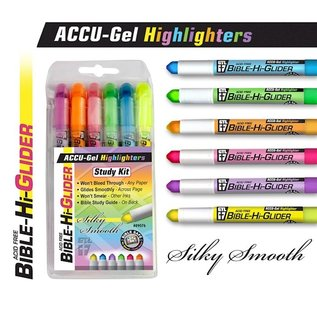Bible Highlighters - 6-Pack