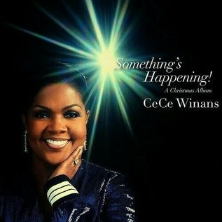 CD - Something's Happening: A Christmas Album (CeCe Winans)