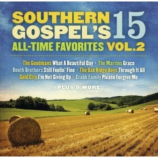 CD - Southern Gospel's 15 All-Time Favorites Vol 2