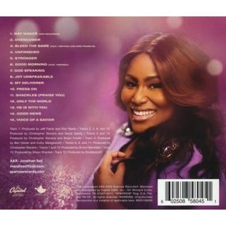 CD - Overcomer: Greatest Hits (Mandisa)