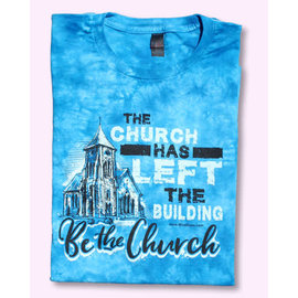 T-shirt - WD Be the Church, Blue