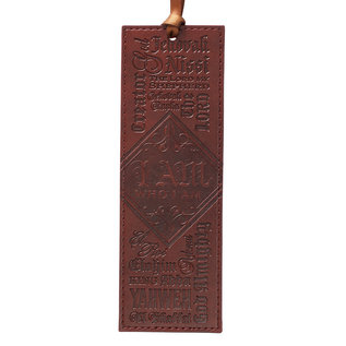 Bookmark - I Am, Faux Leather