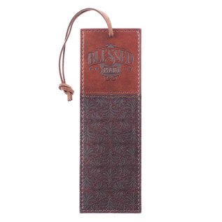 Bookmark - Blessed Man, Faux Leather