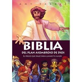 Biblia del Plan Asombroso de Dios (God's Amazing Plan Bible, Spanish), Paperback