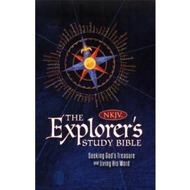 NKJV The Explorer's Study Bible, Blue Leathersoft