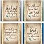 """Coasters - Have Faith (Set of 4) (4"""")"""