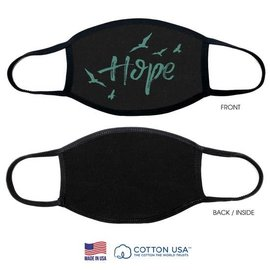 Face Mask: Hope, Black