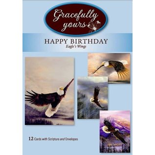 Boxed Cards - Birthday, Eagle's Wings