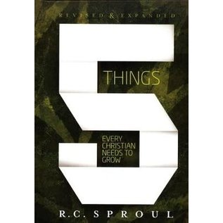 5 Things Every Christian Needs to Grow (R.C. Sproul), Paperback