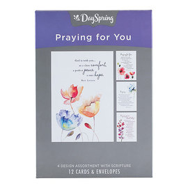 Boxed Cards - Praying for You, Roy Lessin