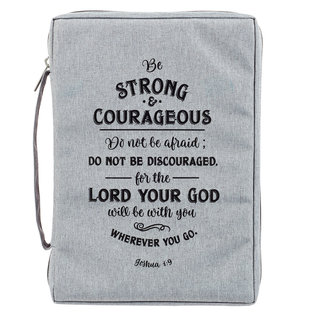 Bible Cover - Be Strong & Courageous
