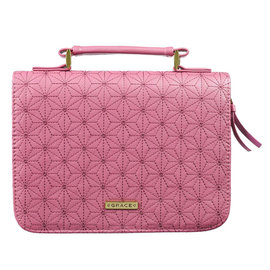 Bible Cover - Grace, Pink