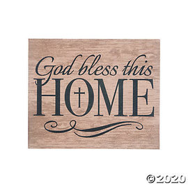 Wall Art - God Bless This Home
