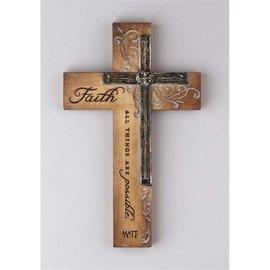 Wall Cross - Faith Double