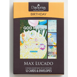 Boxed Cards - Birthday, Max Lucado