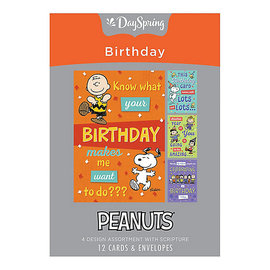 Boxed Cards - Birthday, Peanuts