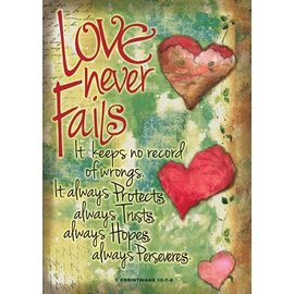 Poster - Love Never Fails