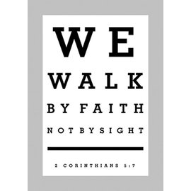 Poster - Walk By Faith