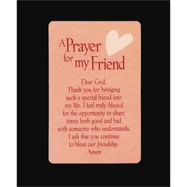 Pocket Card - Prayer for my Friend
