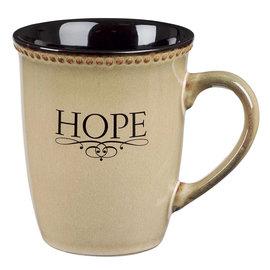 Mug - Hope, Ivory