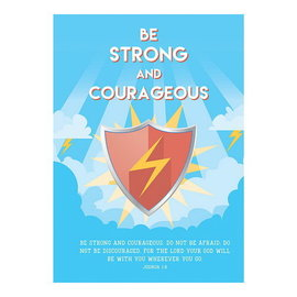 Poster - Be Strong and Courageous