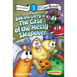 I Can Read Level 1: VeggieTales - Bob and Larry in the Case of the Messy Sleepover