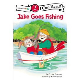 I Can Read Level 2: Jake Goes Fishing