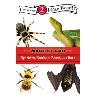I Can Read Level 2: Spiders, Snakes, Bees, and Bats