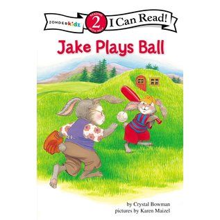 I Can Read Level 2: Jake Plays Ball