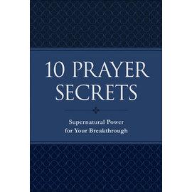 10 Prayer Secrets (Hakeem Collins), Paperback