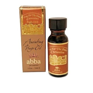 Anointing Oil - Pray for the Peace: Frankincense, 1/2 oz