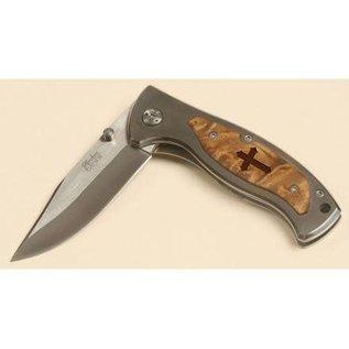 "Pocket Knife - Cross (3.25"" Blade)"