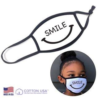 Kid Mask - Smile, White