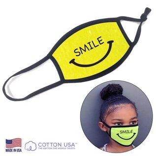 Kid Mask - Smile, Yellow