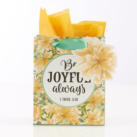 Gift Bag - Be Joyful Always, Extra Small