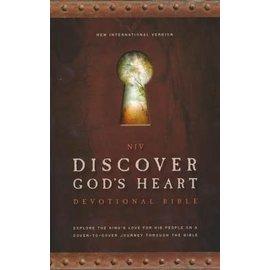 NIV Discover God's Heart Devotional Bible, Hardcover
