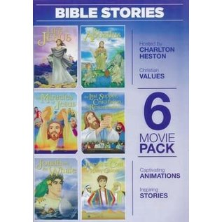 DVD - Greatest Heroes & Legends: Bible Stories, 6 Movies