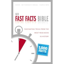 NIV Fast Facts Bible, Paperback