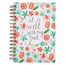 Journal - It is Well with my Soul, Wirebound