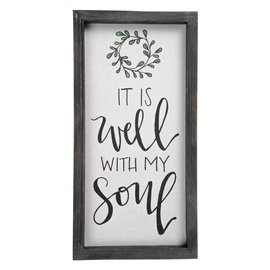 Wall Art - It is Well, Framed