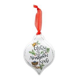Ornament - Glory to the Newborn King