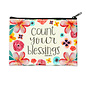 Coin Purse - Count Your Blessings, Zippered