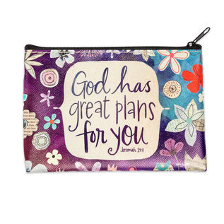 Coin Purse - God has Great Plans for You